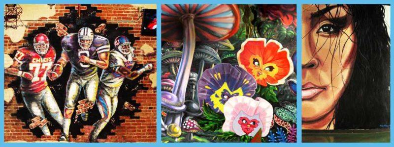 Pendergrass Murals