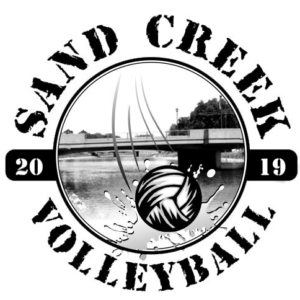 2019 Sand Creek Volleyball Logo - Official