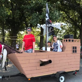 Float Pirate ship