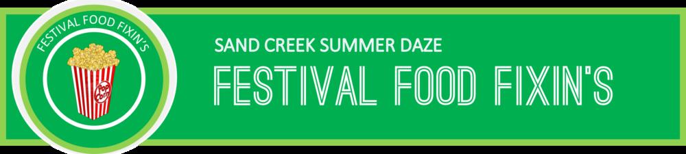 Festival Food Fixins